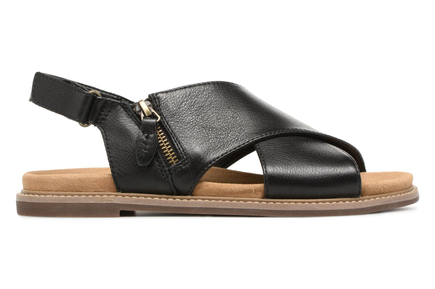 Sandals Clarks Corsio Calm Black back view