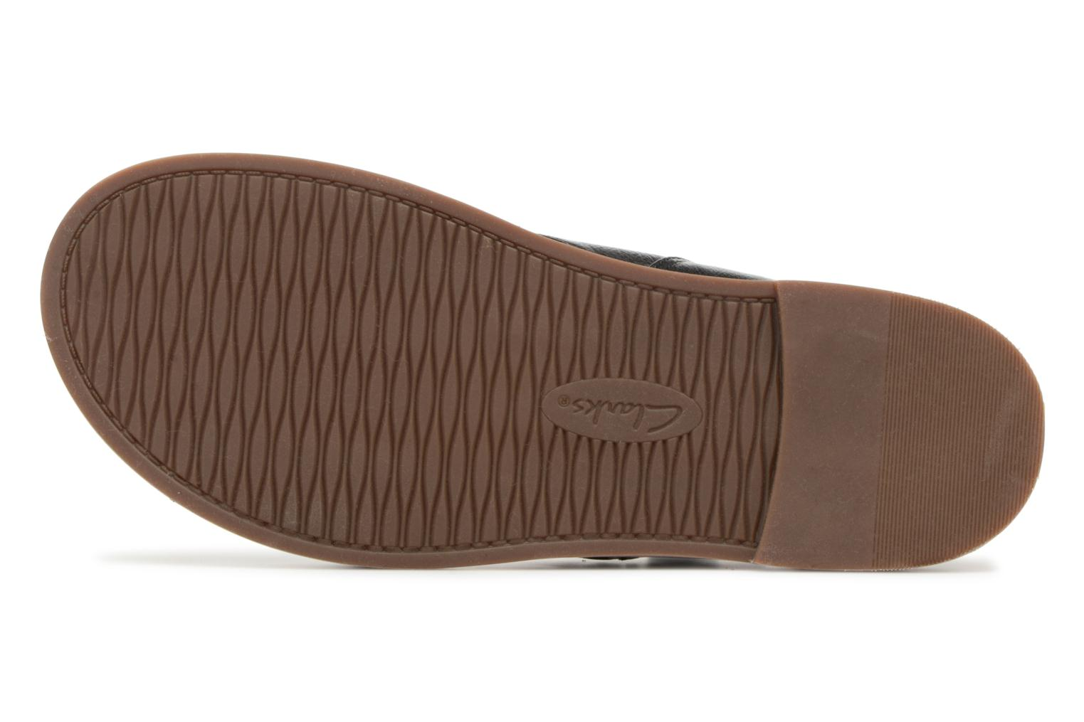 Sandals Clarks Corsio Calm Black view from above