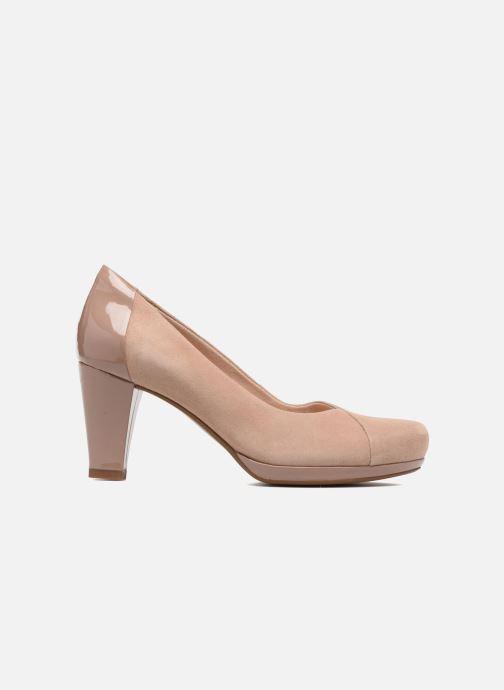 Zapatos de tacón Clarks Chorus Carol Rosa vistra trasera
