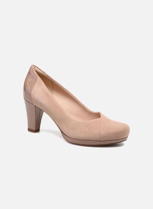 Zapatos de tacón Clarks Chorus Carol Rosa vista de detalle / par