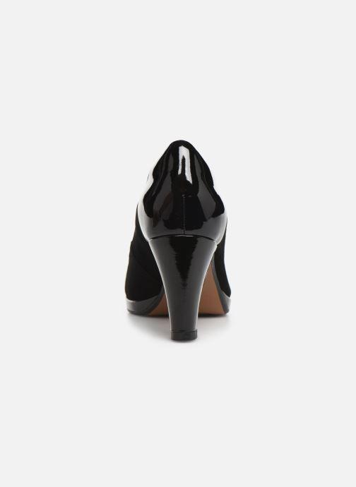 Zapatos de tacón Clarks Chorus Carol Negro vista lateral derecha