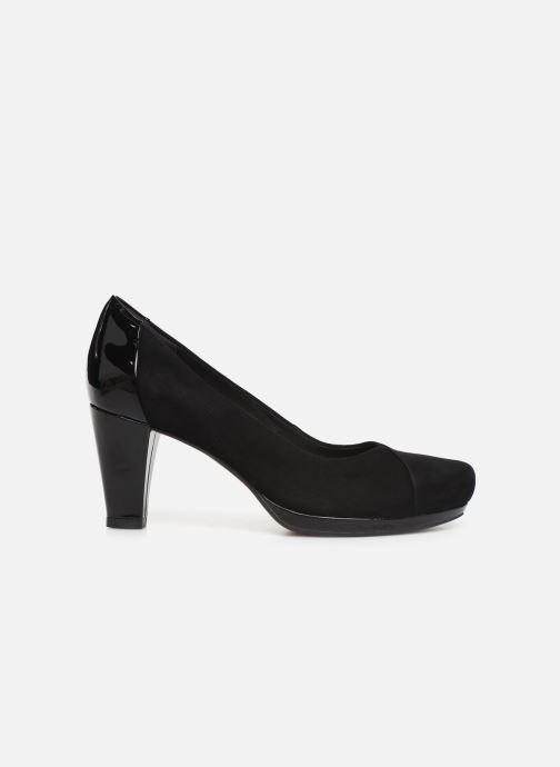 Zapatos de tacón Clarks Chorus Carol Negro vistra trasera
