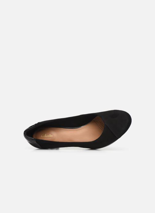 Zapatos de tacón Clarks Chorus Carol Negro vista lateral izquierda