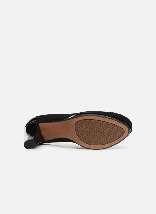 Zapatos de tacón Clarks Chorus Carol Negro vista de arriba