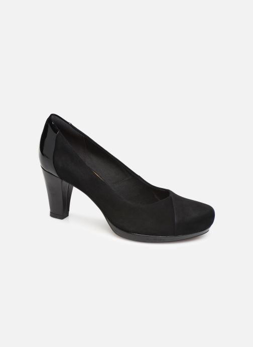 High heels Clarks Chorus Carol Black detailed view/ Pair view