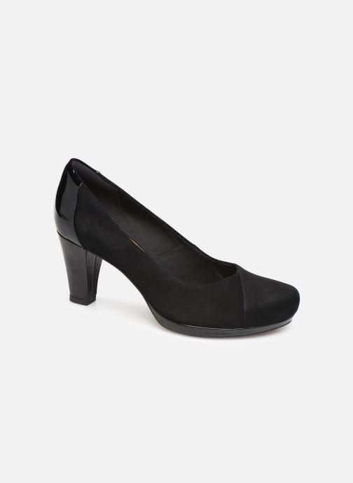 Zapatos de tacón Clarks Chorus Carol Negro vista de detalle / par