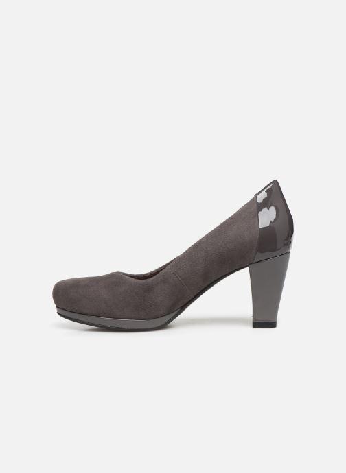High heels Clarks Chorus Carol Grey front view