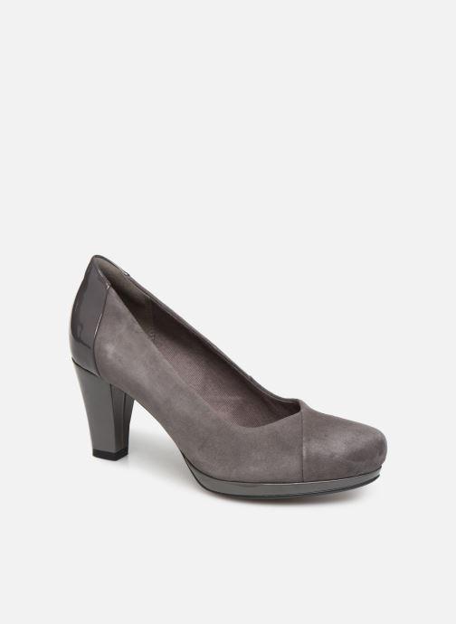 High heels Clarks Chorus Carol Grey detailed view/ Pair view