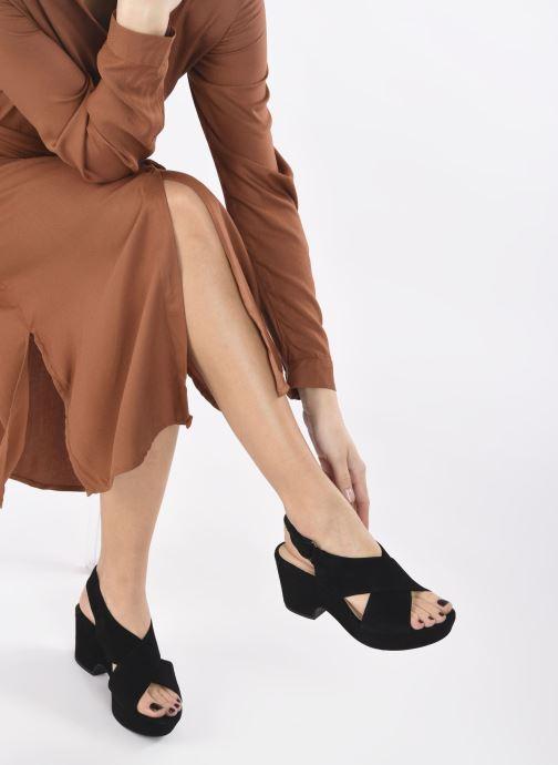 Sandales et nu-pieds Clarks Maritsa Lara Noir vue bas / vue portée sac
