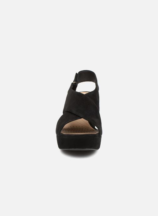 Sandalen Clarks Maritsa Lara schwarz schuhe getragen