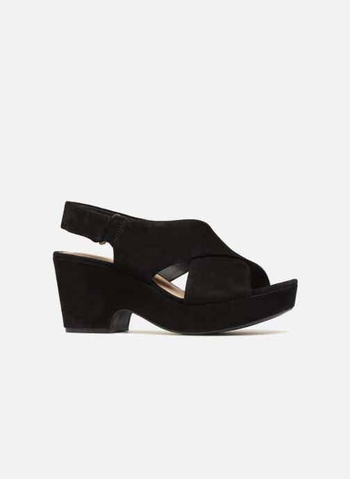 Sandales et nu-pieds Clarks Maritsa Lara Noir vue derrière
