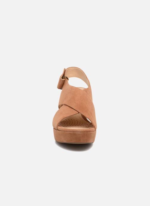 Sandales et nu-pieds Clarks Maritsa Lara Marron vue portées chaussures