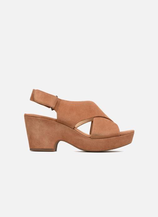 Sandales et nu-pieds Clarks Maritsa Lara Marron vue derrière