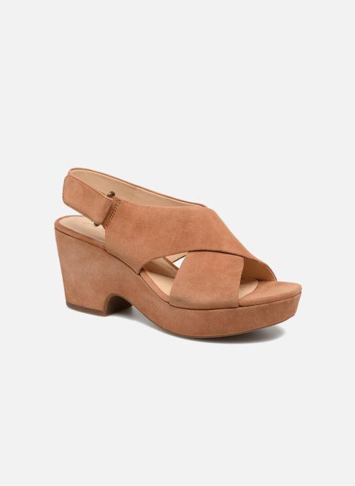 Sandales et nu-pieds Clarks Maritsa Lara Marron vue détail/paire