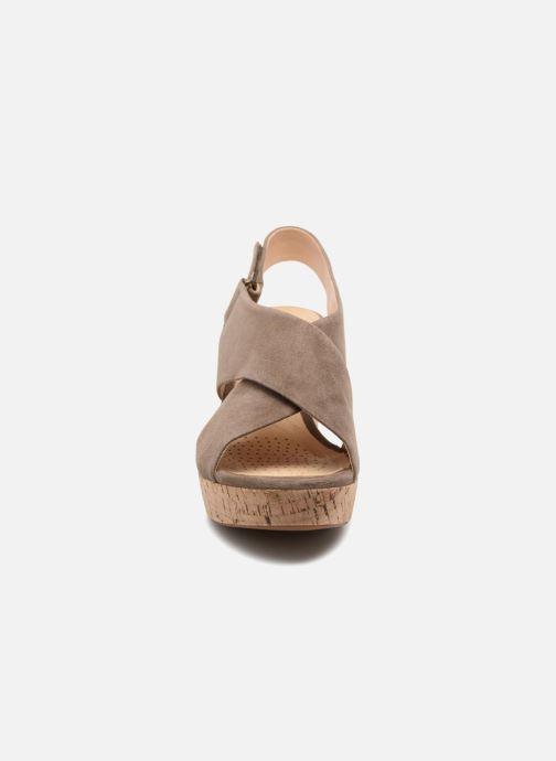 Sandales et nu-pieds Clarks Maritsa Lara Vert vue portées chaussures