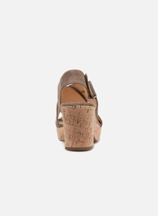 Sandales et nu-pieds Clarks Maritsa Lara Vert vue droite