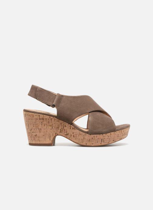 Sandales et nu-pieds Clarks Maritsa Lara Vert vue derrière