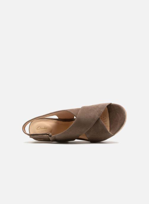 Sandales et nu-pieds Clarks Maritsa Lara Vert vue gauche