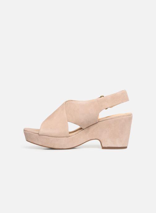 Sandali e scarpe aperte Clarks Maritsa Lara Beige immagine frontale