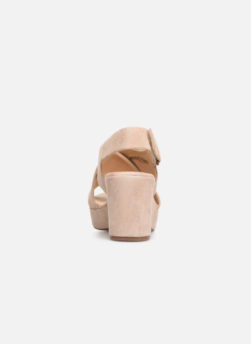 Sandali e scarpe aperte Clarks Maritsa Lara Beige immagine destra