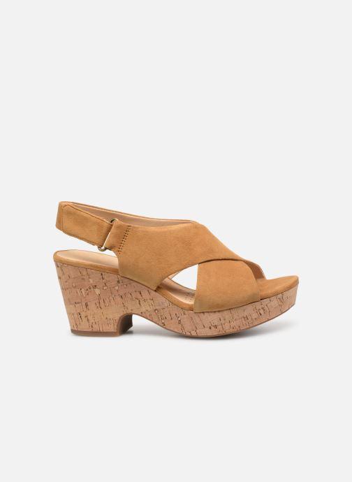 Sandales et nu-pieds Clarks Maritsa Lara Jaune vue derrière