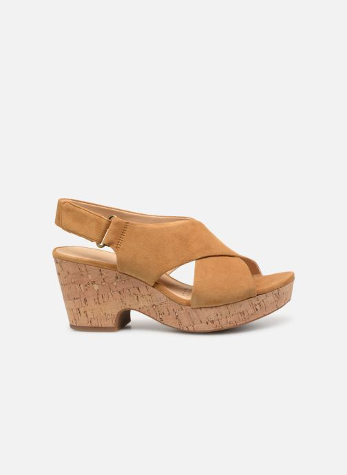 Sandali e scarpe aperte Clarks Maritsa Lara Giallo immagine posteriore