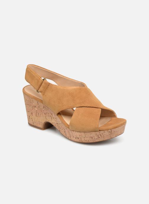 Sandales et nu-pieds Clarks Maritsa Lara Jaune vue détail/paire