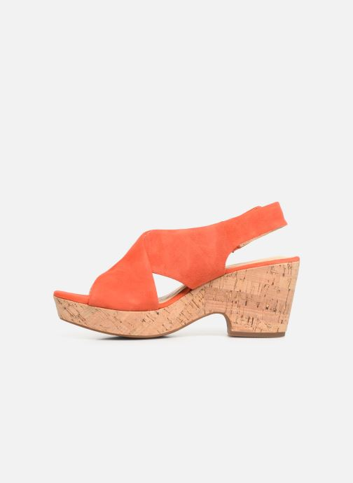 Sandali e scarpe aperte Clarks Maritsa Lara Arancione immagine frontale