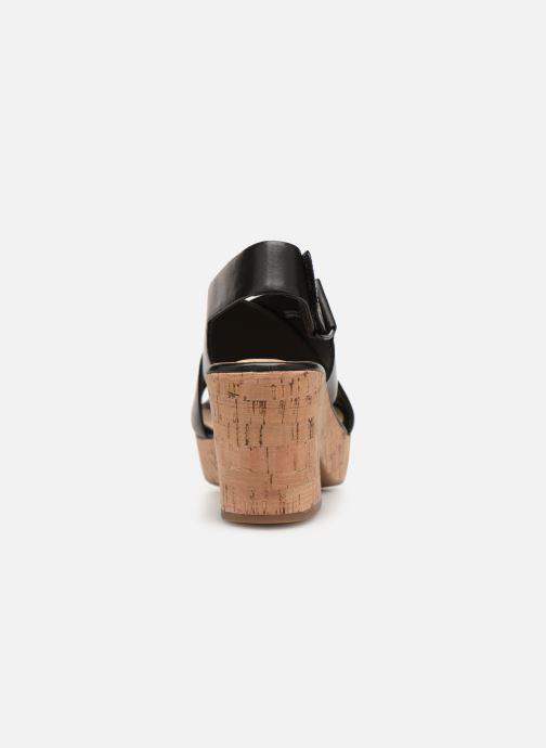 Sandales et nu-pieds Clarks Maritsa Lara Noir vue droite