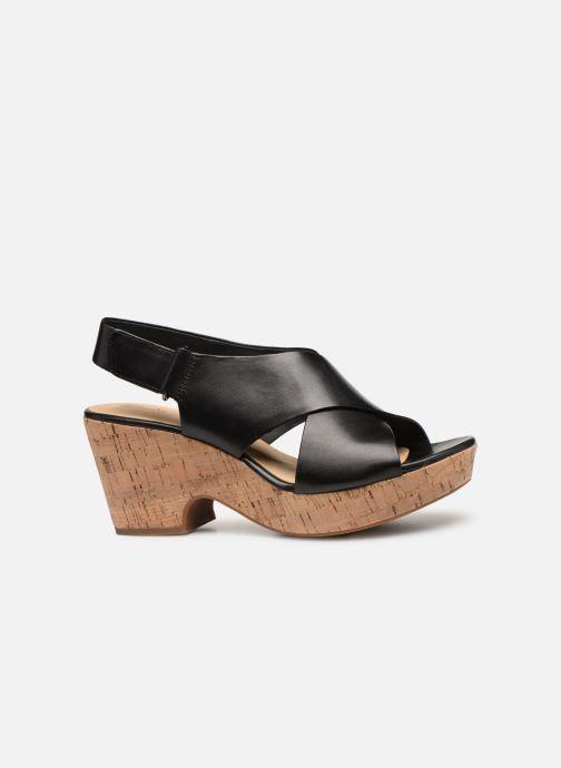 Sandali e scarpe aperte Clarks Maritsa Lara Nero immagine posteriore