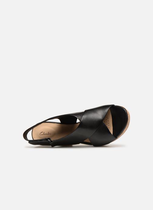 Sandali e scarpe aperte Clarks Maritsa Lara Nero immagine sinistra