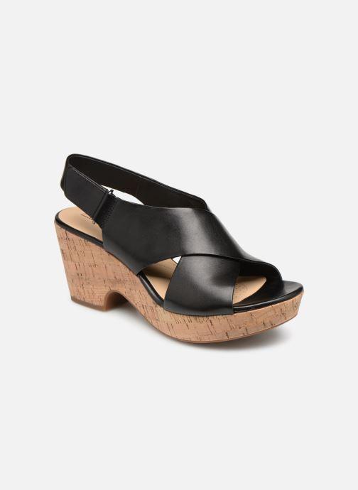 Sandales et nu-pieds Clarks Maritsa Lara Noir vue détail/paire