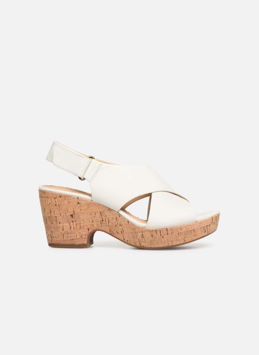 Sandali e scarpe aperte Clarks Maritsa Lara Bianco immagine posteriore