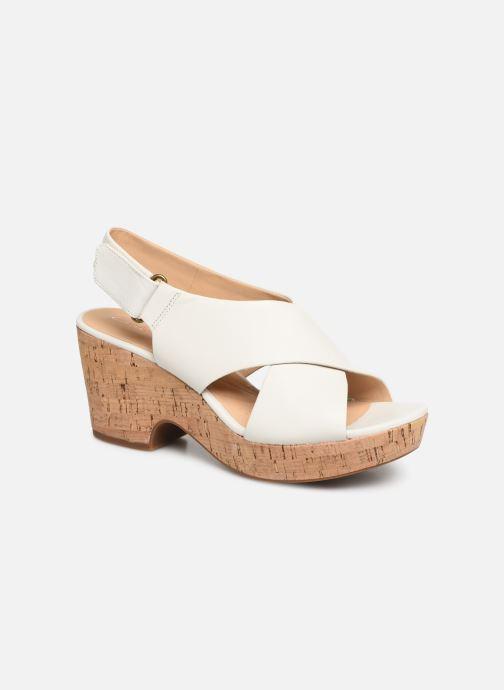 Sandali e scarpe aperte Clarks Maritsa Lara Bianco vedi dettaglio/paio