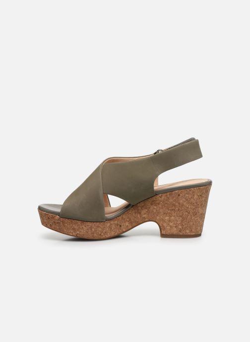 Sandali e scarpe aperte Clarks Maritsa Lara Verde immagine frontale