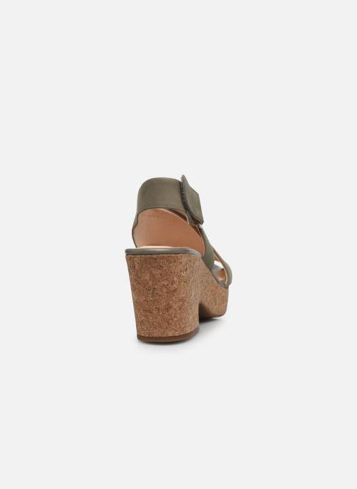 Sandali e scarpe aperte Clarks Maritsa Lara Verde immagine destra