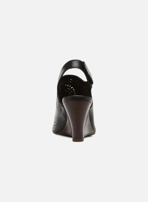 Sandales et nu-pieds Clarks Raven Dawn Noir vue droite