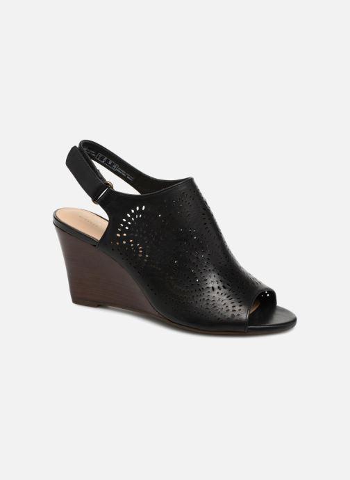 Sandaler Clarks Raven Dawn Sort detaljeret billede af skoene