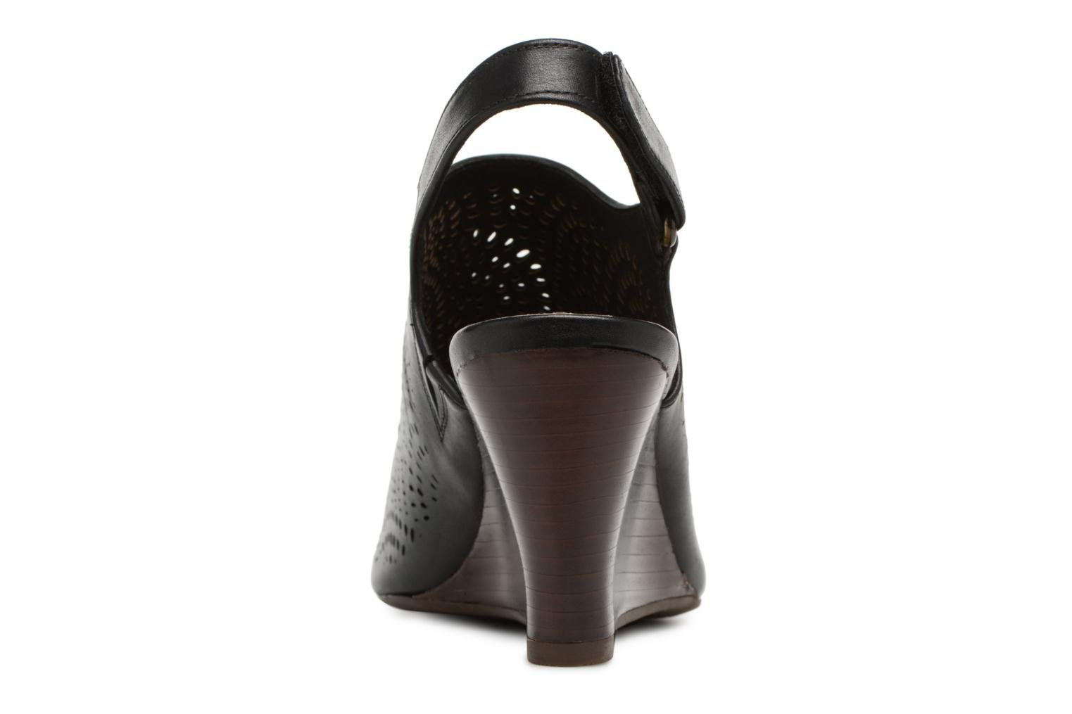 Sandals Clarks Raven Dawn Black view from the right