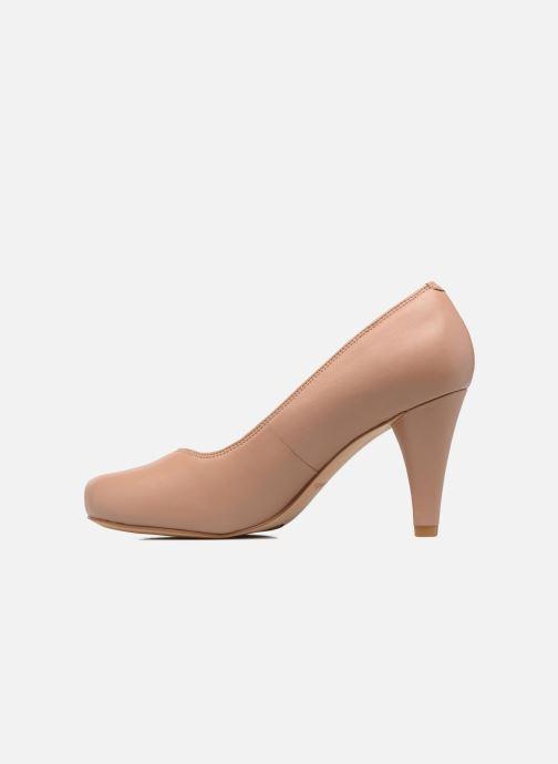 Clarks Dalia Rose (Beige) Zapatos de tacón chez Sarenza