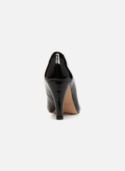 Zapatos de tacón Clarks Dalia Rose Negro vista lateral derecha