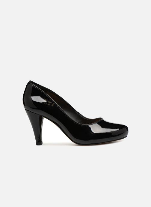 Zapatos de tacón Clarks Dalia Rose Negro vistra trasera