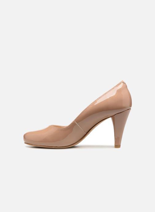 Zapatos de tacón Clarks Dalia Rose Beige vista de frente