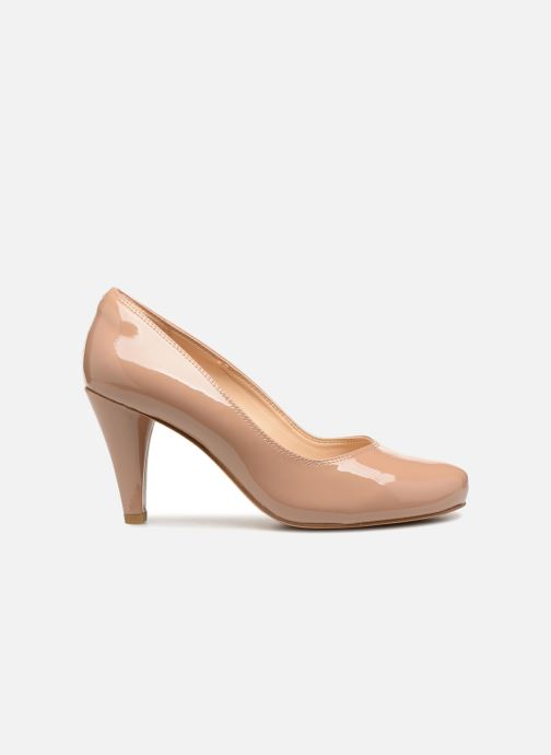 Zapatos de tacón Clarks Dalia Rose Beige vistra trasera