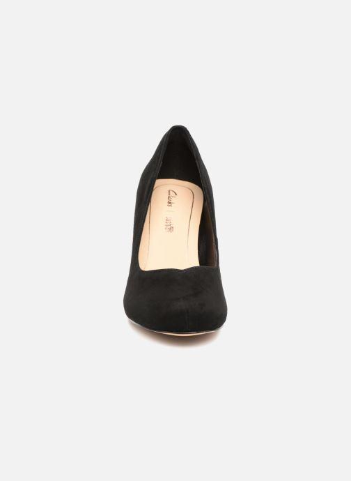 Escarpins Clarks Dalia Rose Noir vue portées chaussures