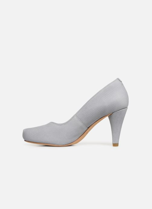 High heels Clarks Dalia Rose Grey front view