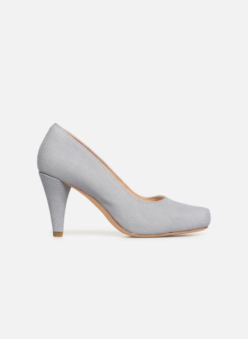 High heels Clarks Dalia Rose Grey back view
