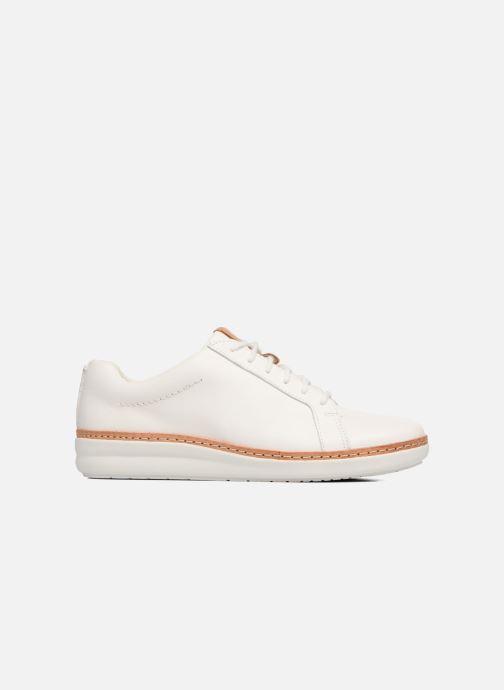 Chaussures à lacets Clarks Amberlee Rosa Blanc vue derrière