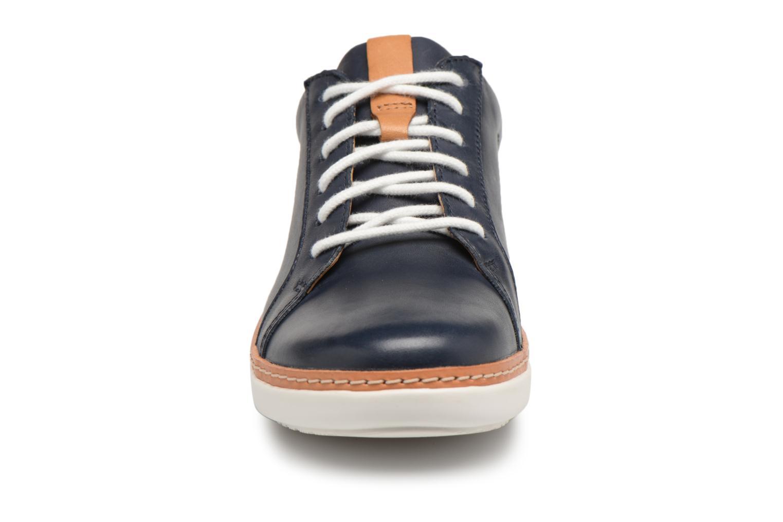 Chaussures à lacets Clarks Amberlee Rosa Bleu vue portées chaussures