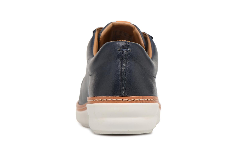 Chaussures à lacets Clarks Amberlee Rosa Bleu vue droite